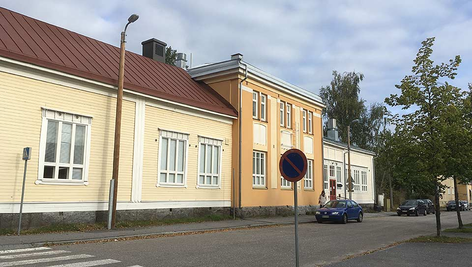 Villagatan 1, Vasa