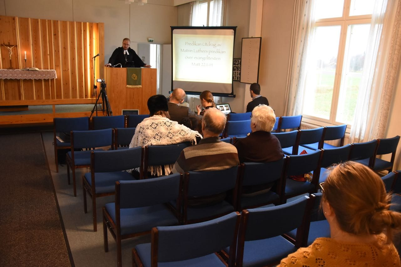 Reformationsjubileum 28–29.10.2017
