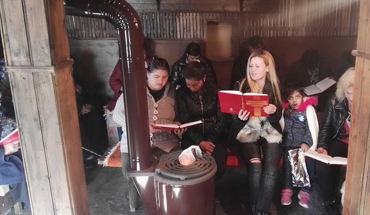 Verksamhet bland romer i Bulgarien